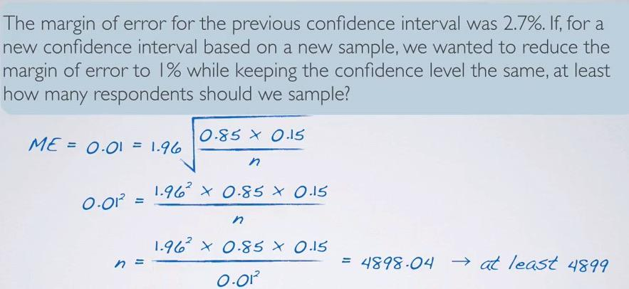 Hypothesis Testing and Confidence Interval for Categorical Variable
